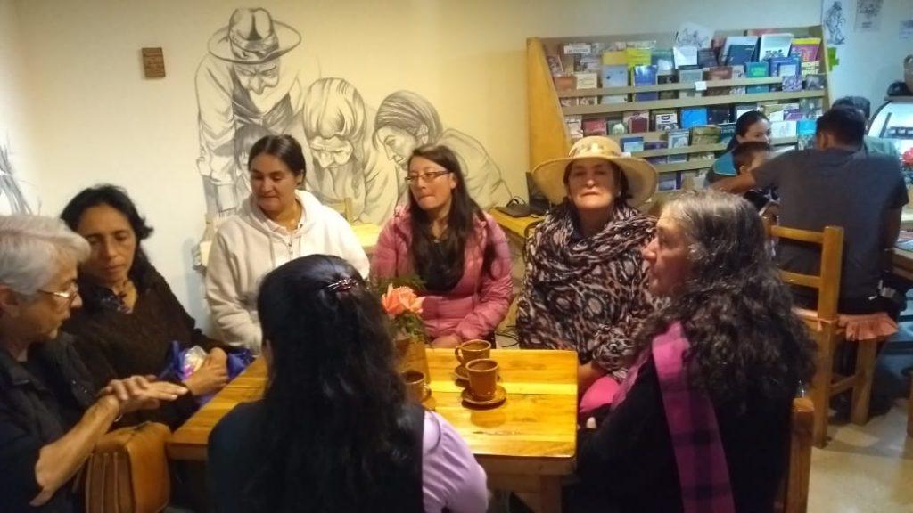 Sabias Montañeras en el Intercambio de Saberes Campesinos, Guasca, 2019.